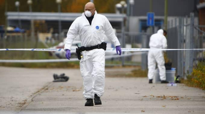 Det var i slutet av oktober som Wesam hittades död. Foto: Henrik Jansson