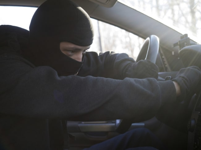 Många bilar har dåligt skydd mot inbrott och stöld enligt nya testresultat. Bilden är arrangerad.