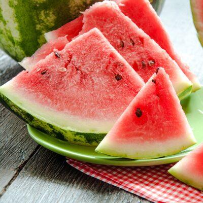 lös i magen av vattenmelon