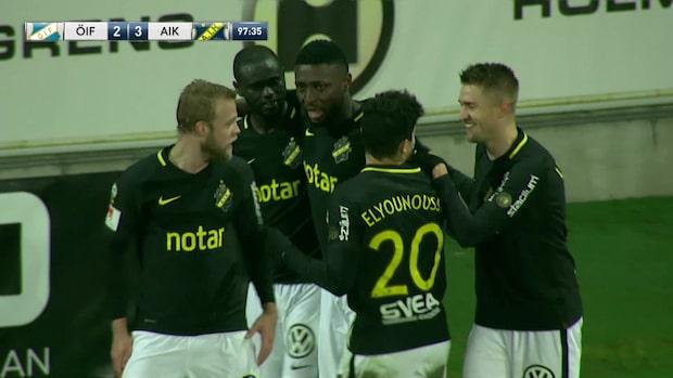 Här blir Chinedu Obasi matchhjälte för AIK