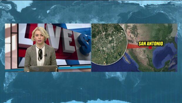 Polisen jagar seriebombare efter explosionerna i Texas