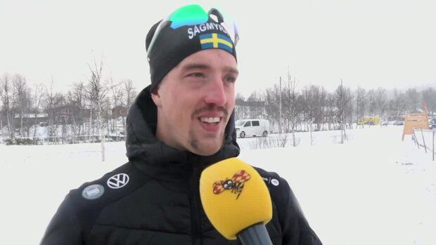 """Halfvarsson kör i Northugs dräkt: """"Alltid retar det någon"""""""
