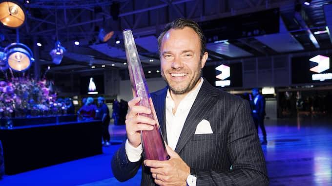 Han är en av Sveriges mest folkkära tv-profiler. Foto: OLLE SPORRONG