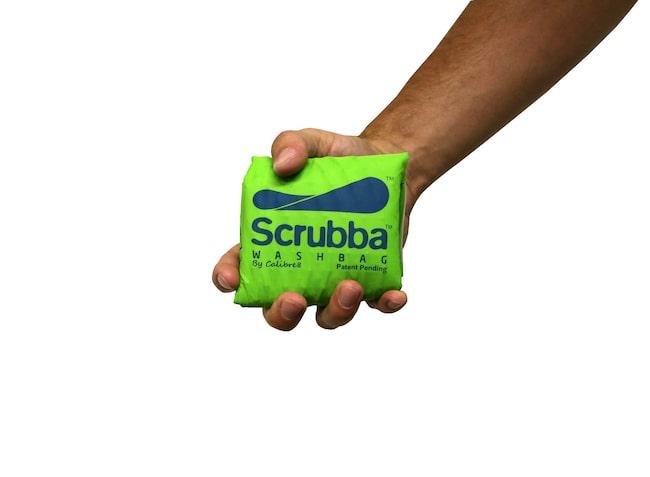 Scrubba washbag, Pacsafe.