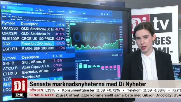 Di Nyheter 12.00 - Handelsbankens styrelse bantas ner