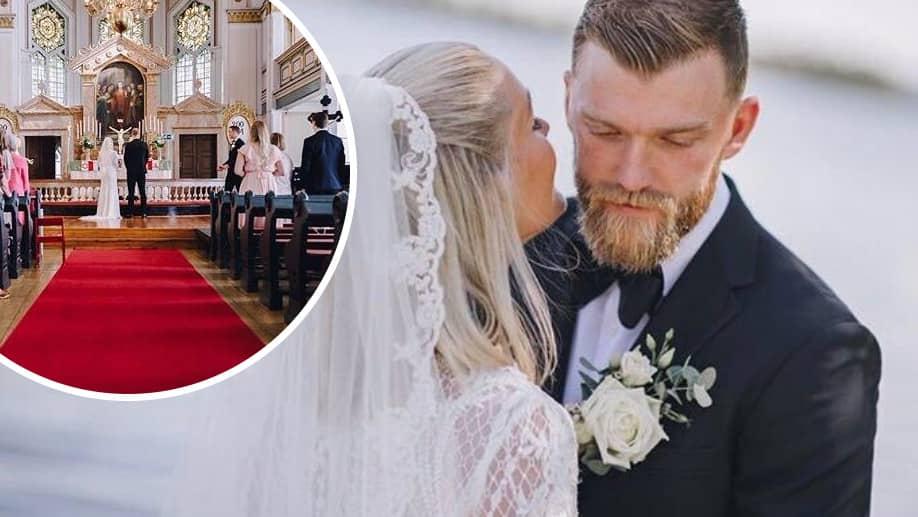 """Bröllopslyckan: """"Var en helt magisk dag"""""""