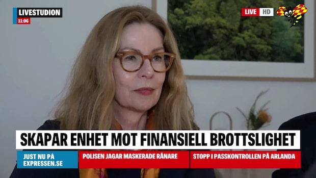 Se intervjun med Swedbanks vd Birgitte Bonnesen