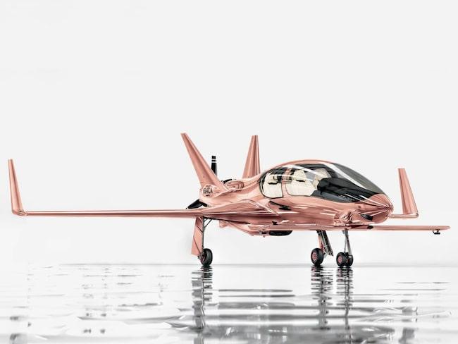 Cobalt Valkyrie-X, ett privatplan med plats för tre passagerare, för i runda slängar 15 miljoner kronor.