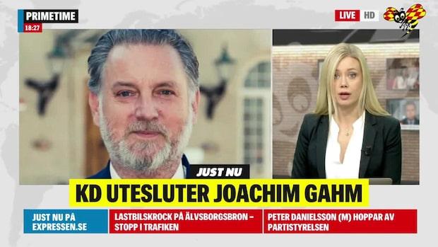 KD utesluter Joachim Gahm