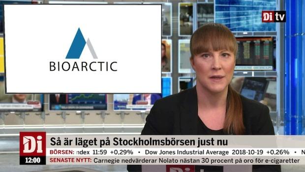 Di Nyheter 12.00 22 okt - Bioarctic stiger på beviljat patent