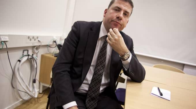 Mikael Ribbenvik blir ny chef för Migrationsverket. Foto: Lisa Mattisson