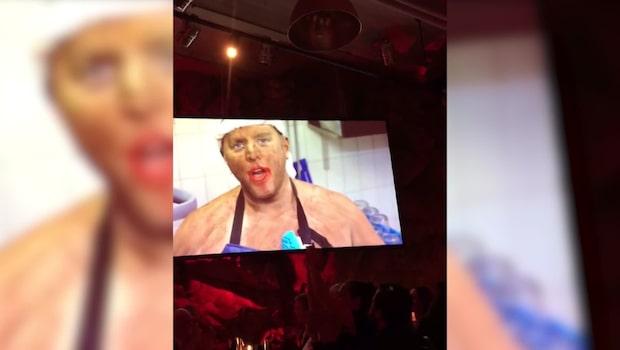 Stockholmskrögaren skulle presentera årets diskare – sminkade sig svart i ansiktet