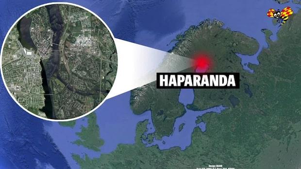 En hittad död efter villabrand i Haparanda kommun