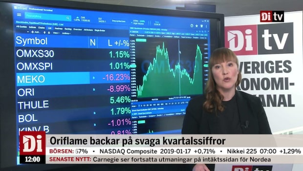 Di Nyheter: Mekonomen ner efter vinstvarning
