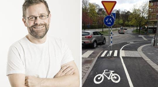 Lever farligt. Cyklister är en utsatt grupp i trafiken. Menar vi allvar med nollvisionen krävs omgående insatser, skriver Krister Isaksson.