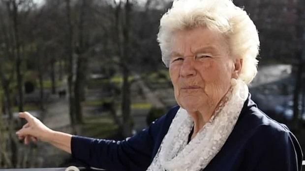 Eivor Nilsson, 84, pantar burkar – för att köpa mat