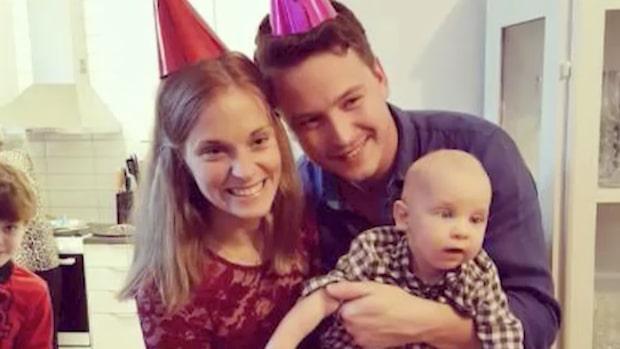 Ettårige Elliot avled efter svåra skadorna vid födseln