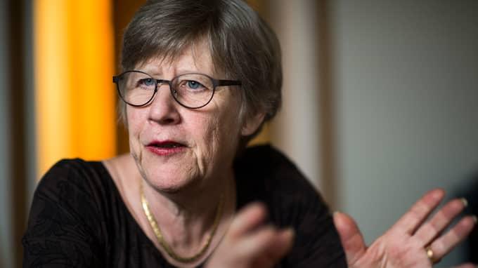 Agnes Wold är professor i klinisk bakteriologi Foto: ROBIN ARON / ROBIN ARON GT-EXPRESSEN