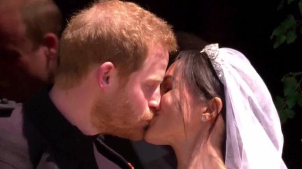 Så var bröllopet mellan prins Harry och Meghan Markle