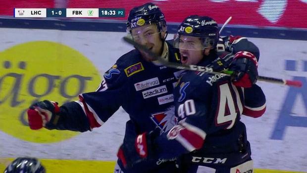 Höjdpunkter: Helewka blev matchhjälte för Linköping