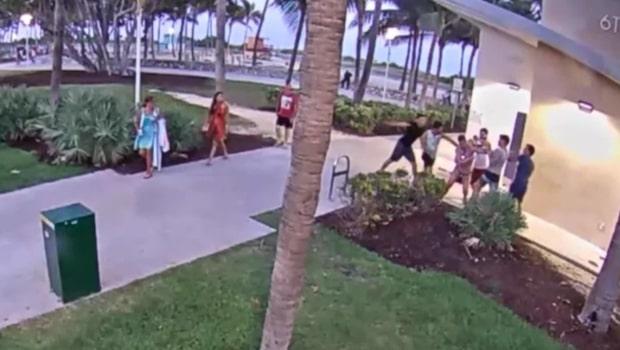 Homosexuellt par brutalt misshandlade i Miami