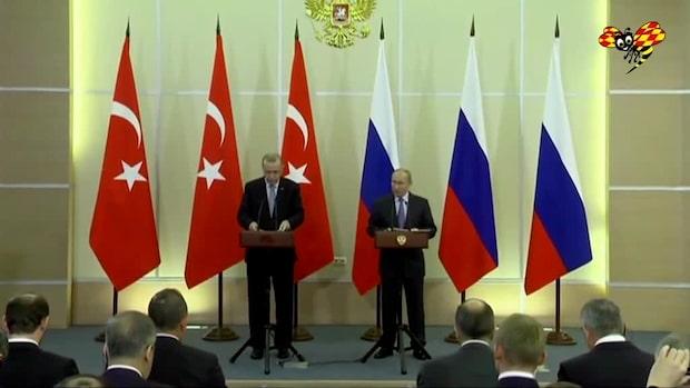 Ryssland och Turkiet ska patrullera ihop