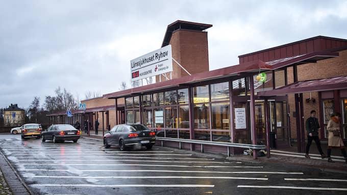 Pojken har vårdats på länssjukhuset Ryhov i Jönköping. Foto: ANDERS YLANDER / ANDERS YLANDER GT/EXPRESSEN