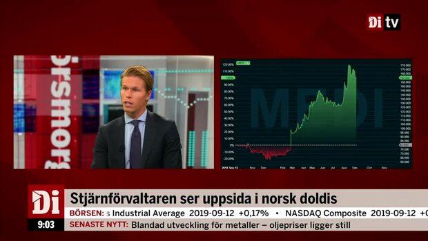 Förvaltaren Carl Armfelt ser uppsida i norska Medistim