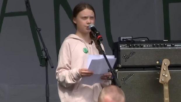 """Greta Thunberg: """"Det här kan vara sista chansen vi har"""""""