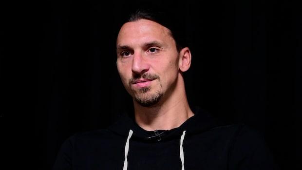 """Zlatan: """"Håller inte på med skådespeleri"""""""