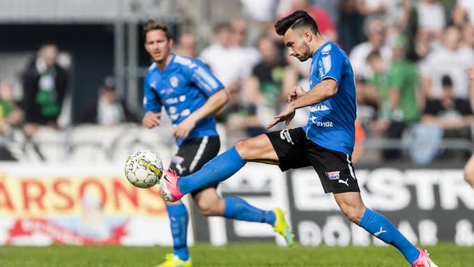 Sead Haksabanovic och Halmstad jagar viktiga poäng hemma mot Örebro på lördagen. Foto: KRISTER ANDERSSON