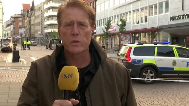 """Explosionen i Lund: """"Stora skador på butiken"""""""