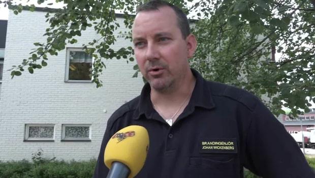 Läget i Sveg på måndagen: Jobbar stenhårt