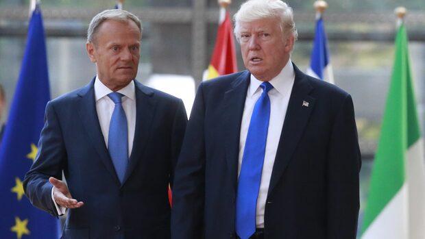 """Trump: """"Tyskarna är onda"""""""