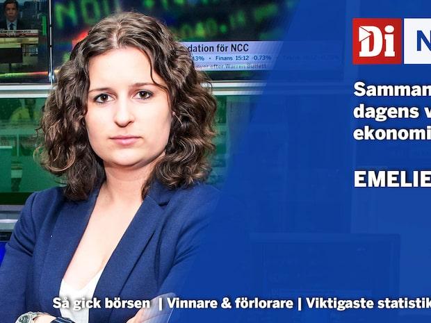 """Extra: Stockholmsbörsen stänger -1,5 % - """"fredagar och måndagar sämsta dagarna"""""""