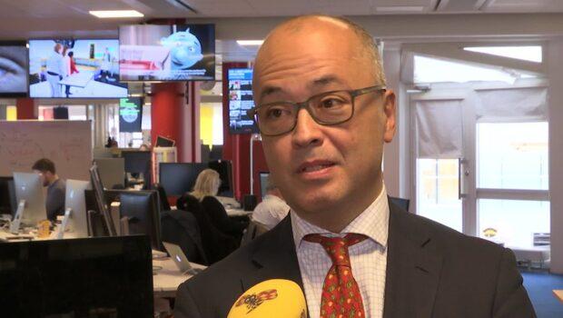 """Frédéric Cho: """"Lättnad för familjen och relationerna till Kina"""""""