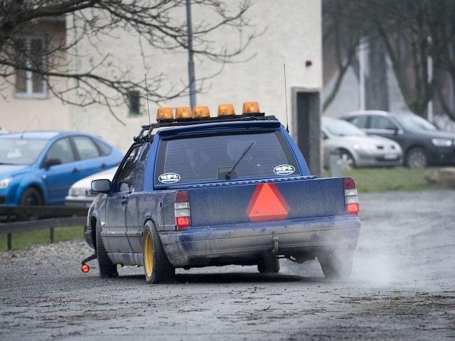 A-traktorer får inte gå snabbare än 30 km/h. Men i Ljungby med omnejd går de betydligt snabbare, enligt polisen.