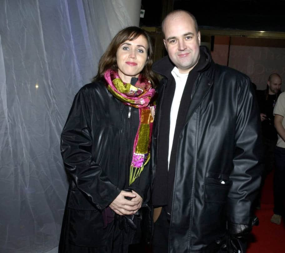 "Filippa och Fredrik Reinfeldt på premiären av filmen ""Master and commander"" på Rigoletto i Stockholm i november 2003. Foto: Roger Vikström"