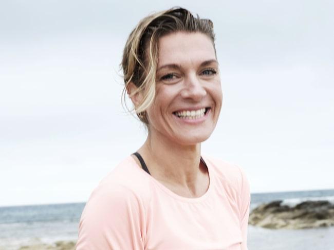 Hälsolivs träningsexpert Erika Kits Gölevik guidar.