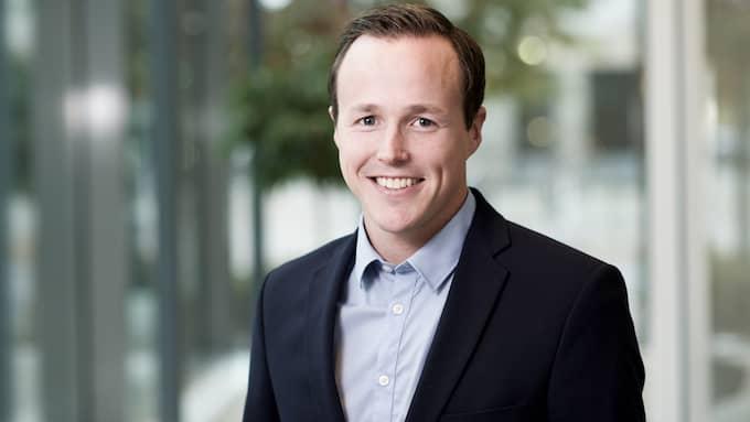 Mattias Munter, pensionsekonom på Skandia.