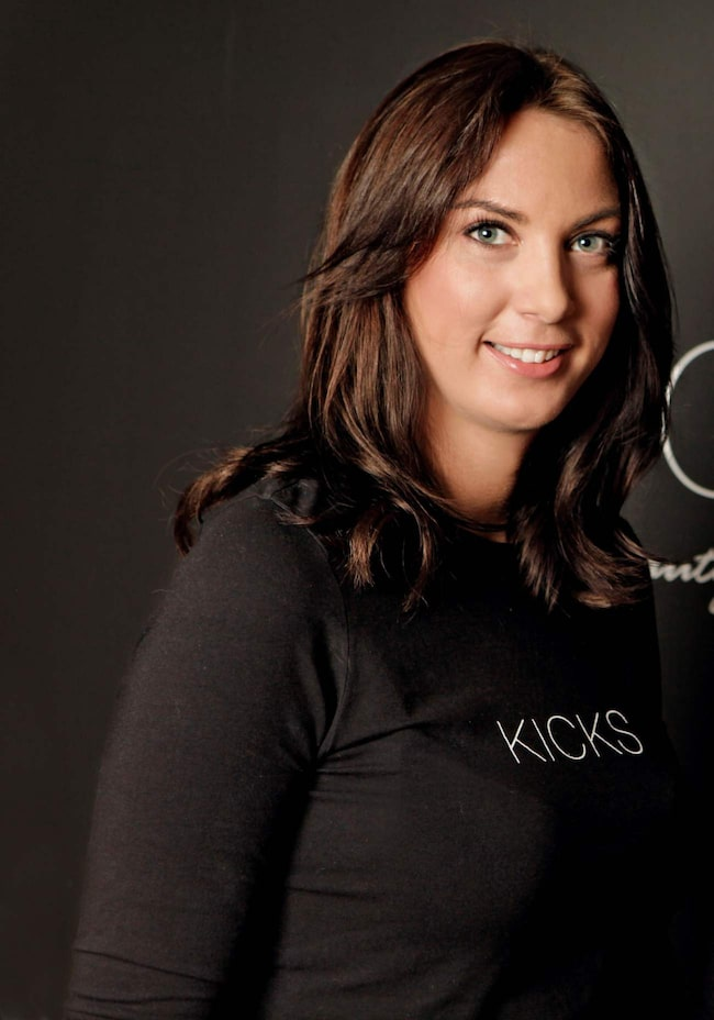 <span>Petra Jansdotter, makeup-artist på Kicks.</span>