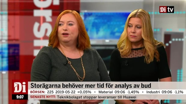 """Jönsson: """"Kan komma fler bud på börsen nu"""""""