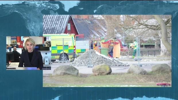 Död man hittad i hamn i Kivik