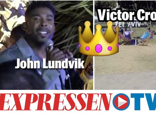 Bakom kulisserna på ESC – John Lundvik favorittippad