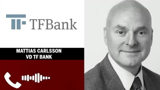 """TF Banks vd: """"Relativt stabilt just nu"""""""