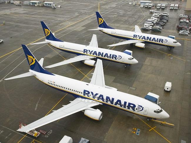 Ryanairs vd Michael O´Leary flaggar om att piloterna kan gå i strejk till påsk.