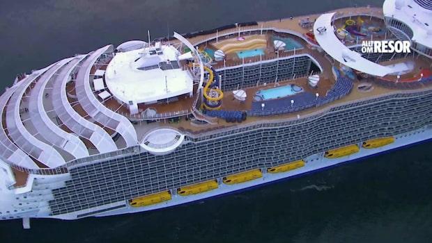 Så blir världens största kryssningsfartyg