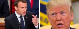 """Macron: """"Vi står inför nya hot och utmaningar"""""""