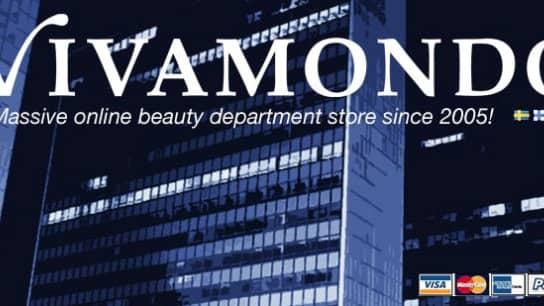 Vivamondos sida på Facebook.