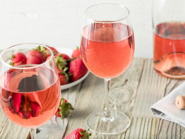 Rosé är favorit som funkar perfekt till mat.